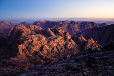 View from Summit, Mount Sinai Mohammed Moussa 2013