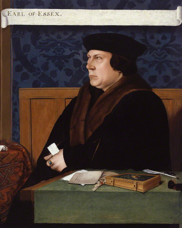 NPG 1727; Thomas Cromwell, Earl of Essex after Hans Holbein the Younger